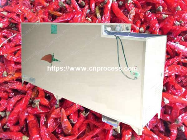 Stainless Steel Made Chili Stem Cutting Machine