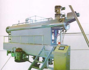 Continuous Steam Decontamination System for Herbs and Spices