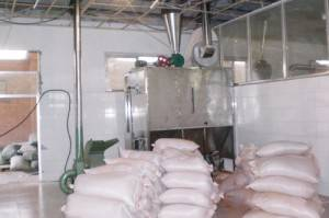 buffer silo for chili powder production line