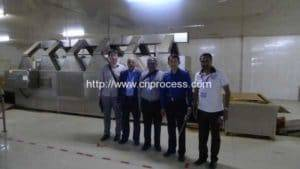 India Customer Visit Chili Powder Production Line
