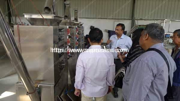 Chili Powder Roller Milling Plant Visit with India Customer