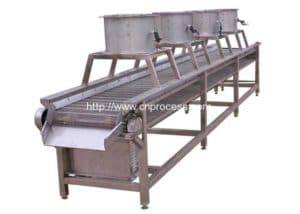 Water Washing Food Air Drying Machine