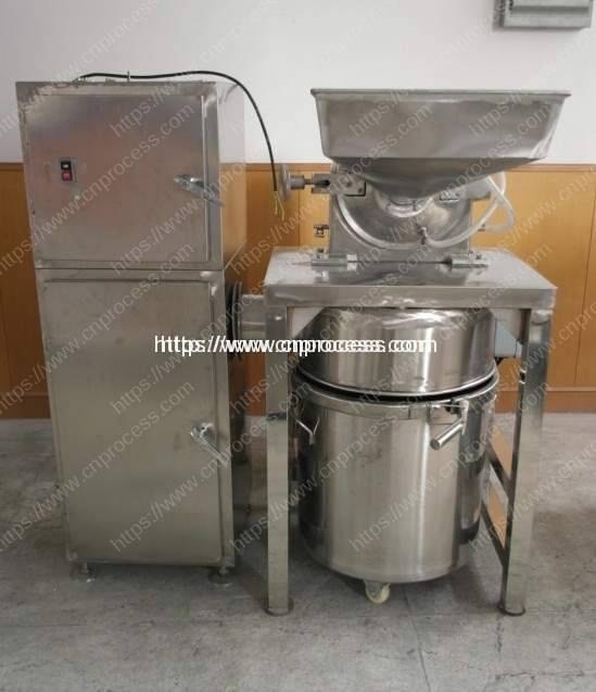 Stainless Steel Grinder Machine with Water Cooling & Dust Collector 2