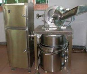 Stainless Steel Grinder Machine with Water Cooling & Dust Collector
