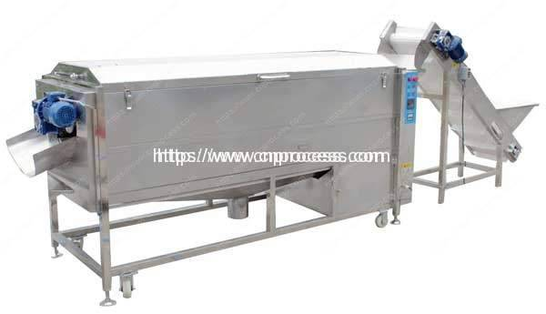 Full Automatic Potato Washing, Peeling, French Fries Cutting Line