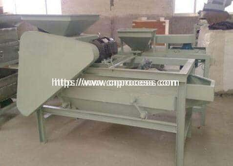 Almond Shell Cracking and Separating Machine