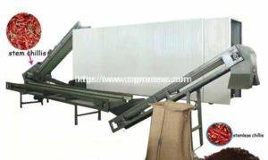 500KGH Full Automatic Type Dry Chili Stem Cutting Machine