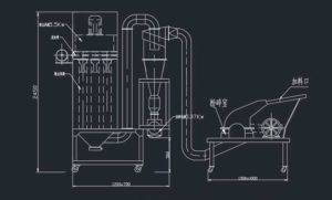 Spice-and-Herbs-Powder-Crushing-Plant-System-Drawing
